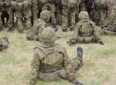 kaitsevägi
