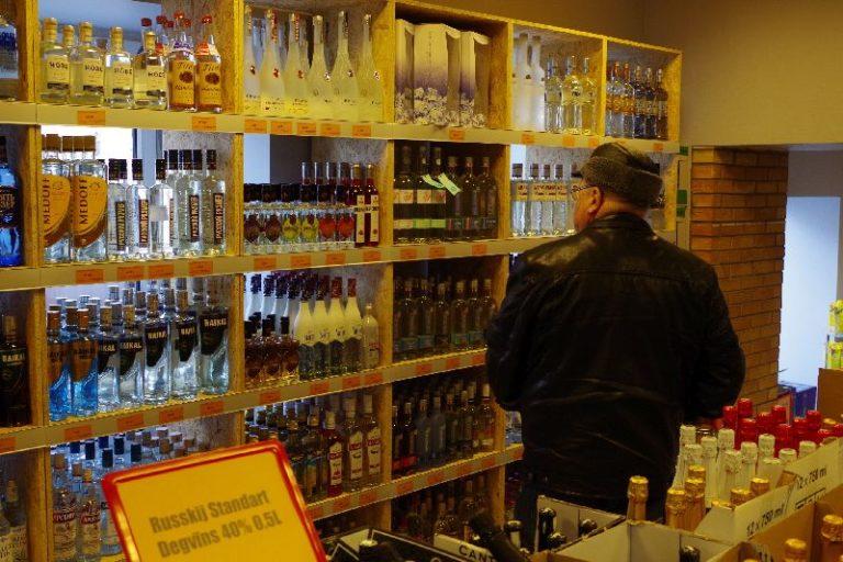 alkoholi tarbimine