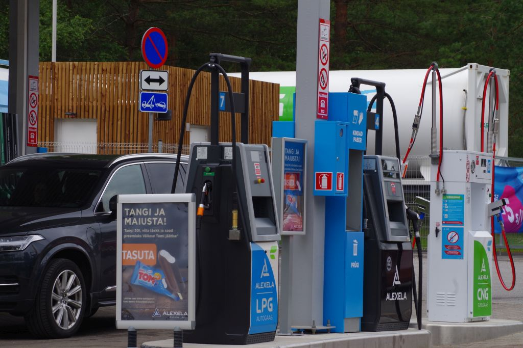 cng tanklad euroopas