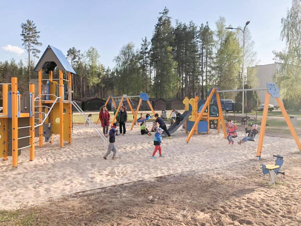 440ab968564 Sellist pole isegi Võrus: uus äge mänguväljak Põlvas Lina linnaosas ...